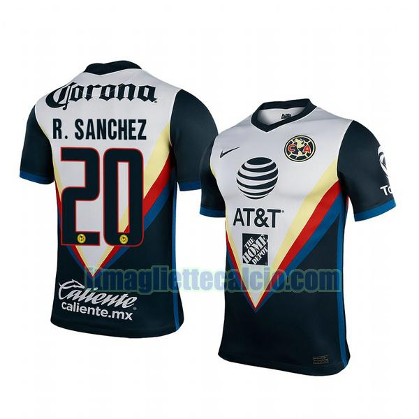 maglia club america 2020-2021 richard sanchez 20 seconda