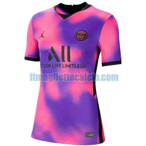 maglia paris saint germain donna 2020 2021 porpora fourth